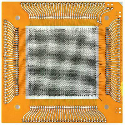 Magnetic-core Memory Poster by Pasieka