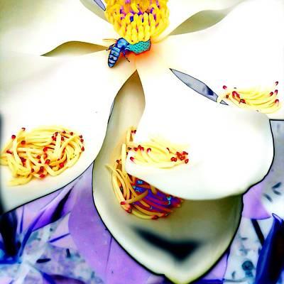 Magnolia Bee Poster