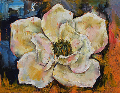 Magnolia Poster by Michael Creese