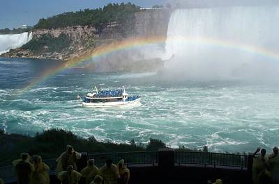 Poster featuring the photograph Maid Of The Mist -41 by Barbara McDevitt