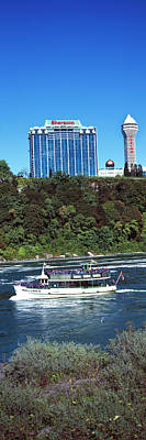 Maid Of The Mist Boat Ride To Falls Poster by Panoramic Images
