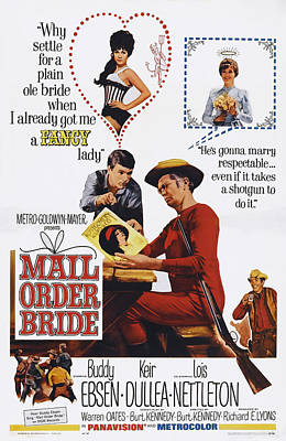 Mail Order Bride, Top From Left Barbara Poster