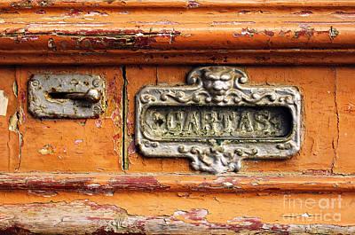 Mail Slot Poster by Carlos Caetano
