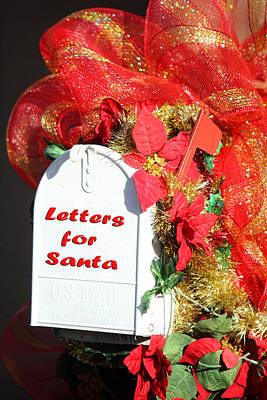 Mailbox For Santa Poster