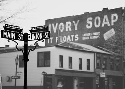 Poster featuring the photograph Main Street by Courtney Webster