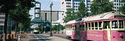 Main Street Trolley Memphis Tn Poster by Panoramic Images