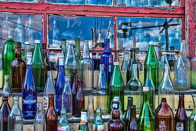 Maine Bottle Collector Poster by Steven Bateson
