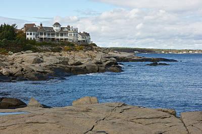 Maine Coastline Poster