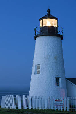 Maine, Pemaquid Light Poster