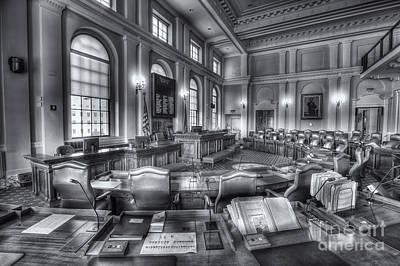Maine State House Senate Chamber Iv Poster