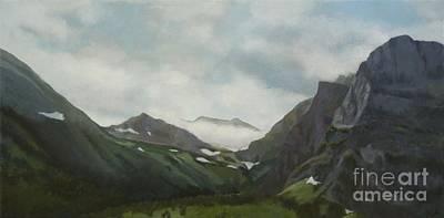 Majestic Glacier Park Poster