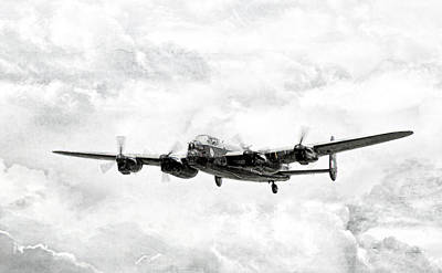 Majestic Lanc Poster by Peter Chilelli