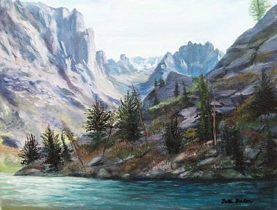 Majestic Montana Poster by Patti Gordon