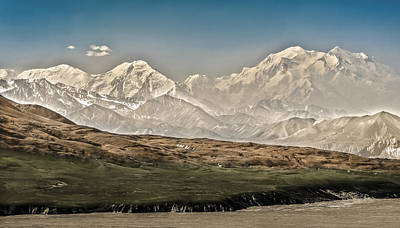 Majestic Mount Mckinley Poster by Penny Lisowski