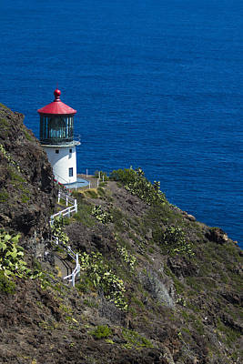 Makapuu Lighthouse2 Poster