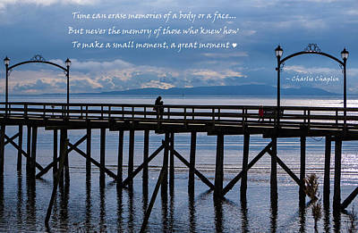 Poster featuring the photograph Make A Small Moment A Great Moment by Jordan Blackstone