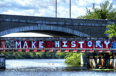 Make History Boston Poster