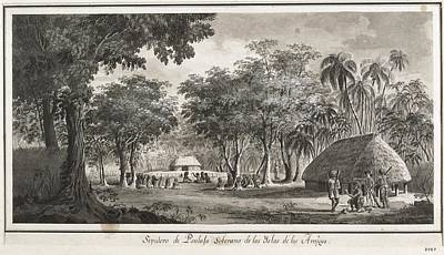 Malaspina Expedition. Tonga Islands Poster