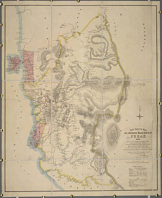 Malay State Of Perak Poster by British Library