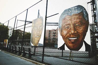 Malcolm And Mandela Poster by Natasha Marco