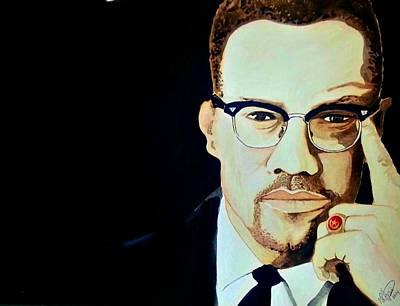 Malcolm X 2014 Poster by Ken Higgins
