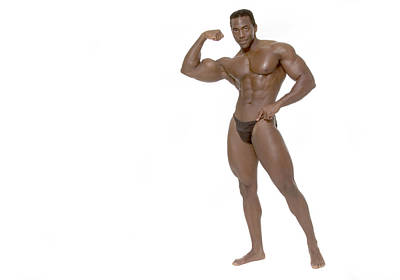 Male Bodybuilder Poster
