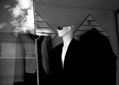 Male Mannequin With Sunglasses Poster