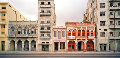 Malecon In Havana Poster by Shaun Higson