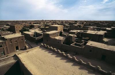Mali. Timbuktu. Tombouctou. Adobe Poster by Everett