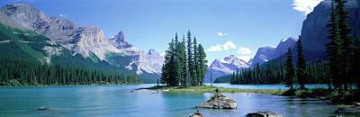 Maligne Lake Near Jasper, Alberta Poster by Panoramic Images