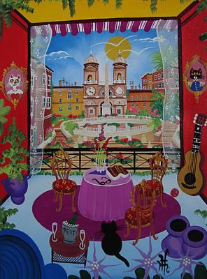 Mallorca, Spain, 2012 Acrylic On Canvas Poster by Herbert Hofer