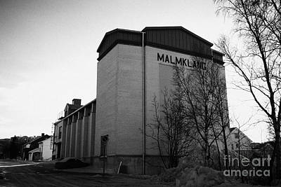 Malmklang Cultural Centre Kirkenes Finnmark Norway Europe Poster