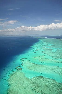 Malolo Barrier Reef Off Malolo Island Poster