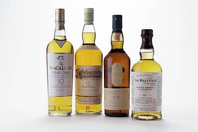 Malt Whiskies Poster