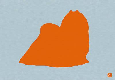 Maltese Orange Poster