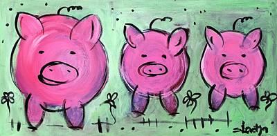 Mama Pig Poster