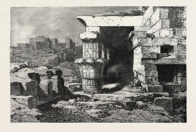 Mamisi, Or Place Of Birth Of Dendera Poster by Litz Collection