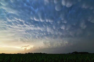 Mammatus Clouds Poster by Roger Hill