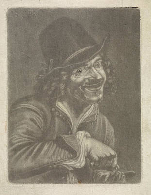 Man Counts Coins The Hearing, Jan Van Der Bruggen Poster by Jan Van Der Bruggen And Jan Verkolje (i) And Petrus Staverenus