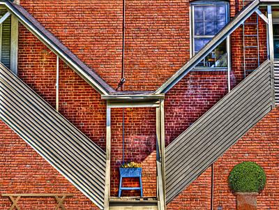 Man In The Window Poster by Paul Wear