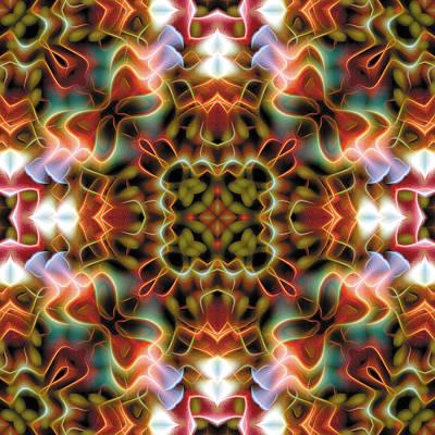 Mandala 120 Poster by Terry Reynoldson