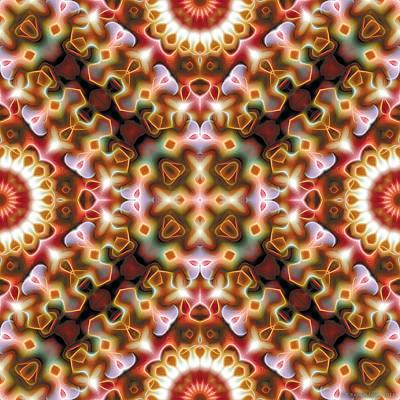 Mandala 121 Poster by Terry Reynoldson