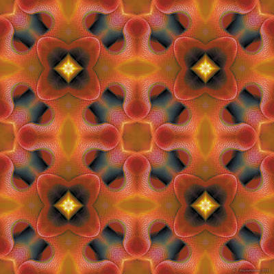 Mandala 124 Poster by Terry Reynoldson