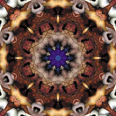Mandala 18 Poster by Terry Reynoldson