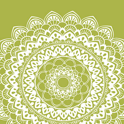 Mandala 4 Poster