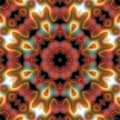 Mandala 96 Poster by Terry Reynoldson