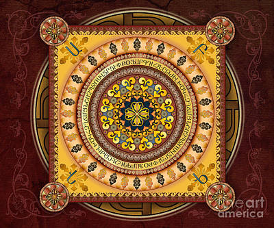 Mandala Armenia 'iypenkimta' Sp Poster by Bedros Awak