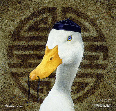 Mandarin Duck ...  Poster
