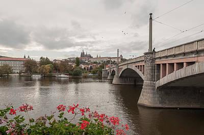 Manesuv Bridge Poster by Sergey Simanovsky