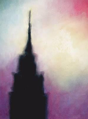 Manhattan Haze Poster by Janel Bragg